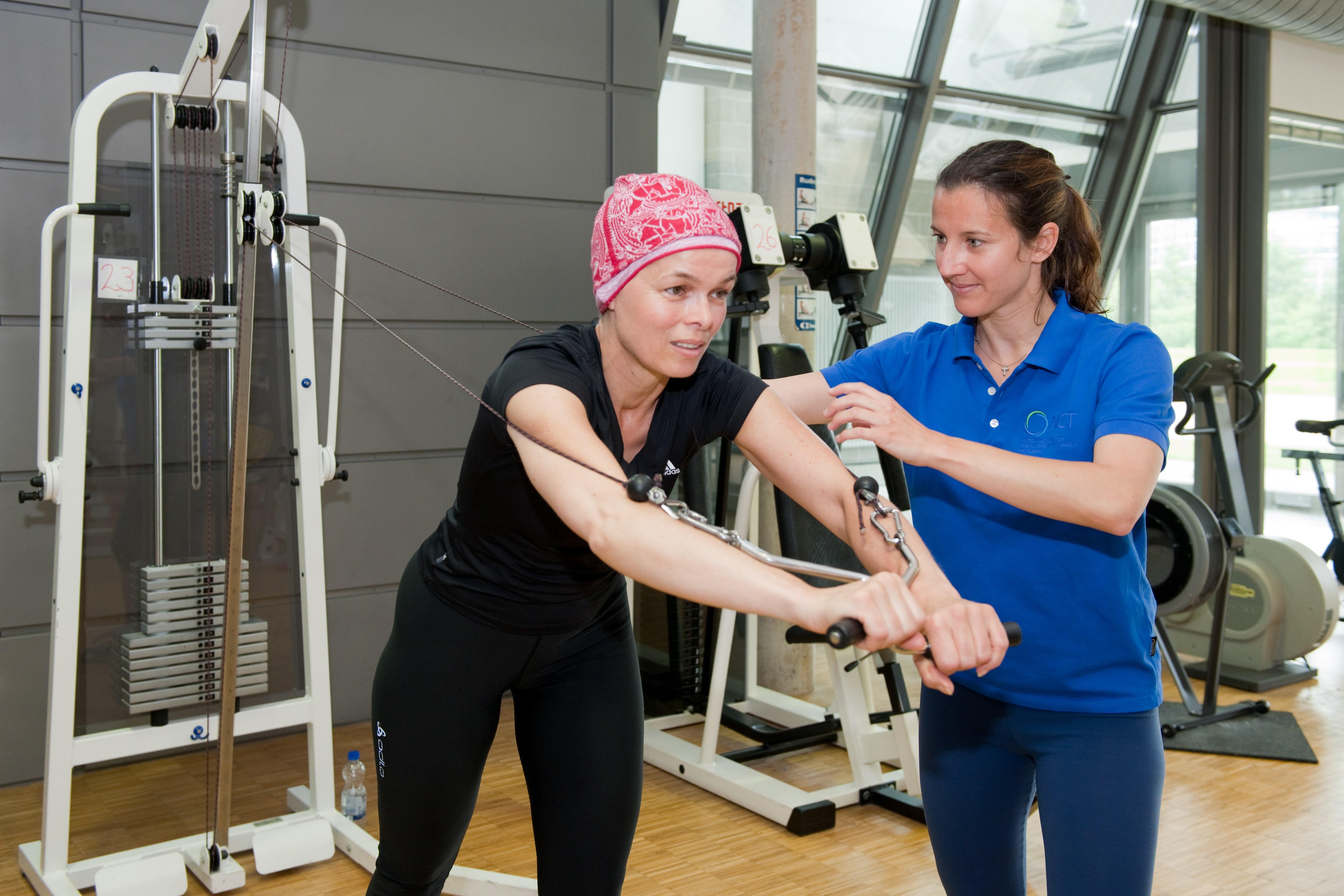 Ejercicio para personas con cáncer